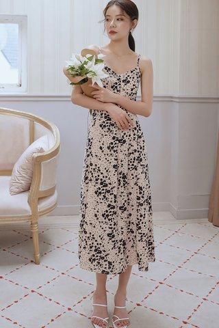 BACKORDER - Kalicia V-Neck Sleeveless Dress In Light Pink