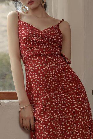 BACKORDER - Mellbe Sleeveless Floral Dress