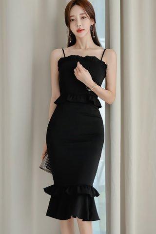 BACKORDER - Shandell Tier Ruffle Dress