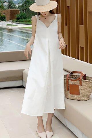 BACKORDER - Kaelin Knot Sleeveless Dress