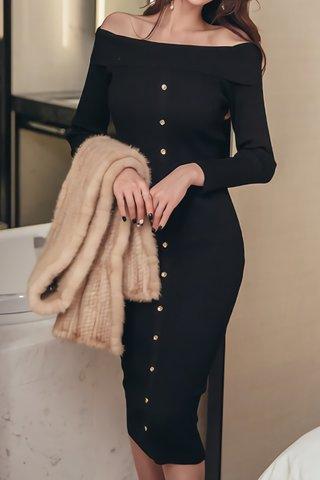BACKORDER - Eliza Off Shoulder Knit Dress