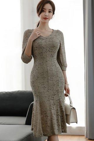 BACKORDER - Tersa Sleeve Lace Dress