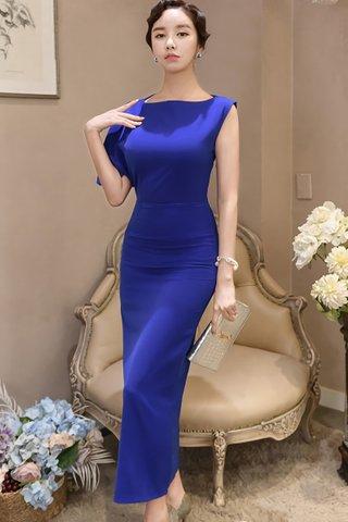 BACKORDER - Rachel Flutter Sleeve Maxi Dress