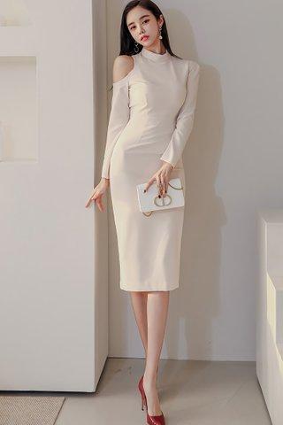 BACKORDER - Shann Shoulder Cutout Dress