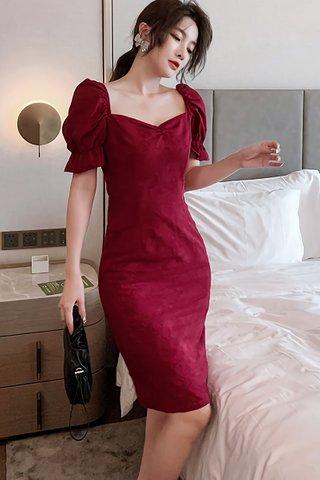 BACKORDER - Charisma Puff Sleeve Mini Dress