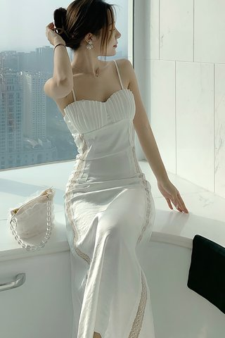 BACKORDER - Suesan Sleeveless Strap Shell Dress