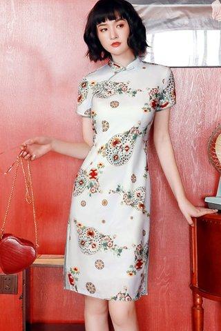 BACKORDER - Irina Floral Sleeve Cheongsam