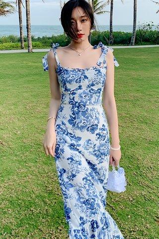 BACKORDER - Nandez Floral Ruffle Hem Dress