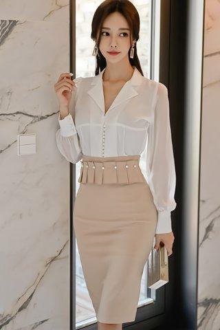 BACKORDER - Janese High Waist Skirt