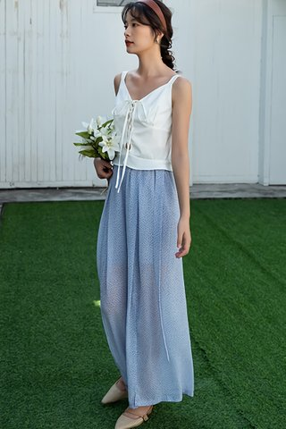 BACKORDER - Sulyn Relaxed Fit High Waist Pant In Pale Blue