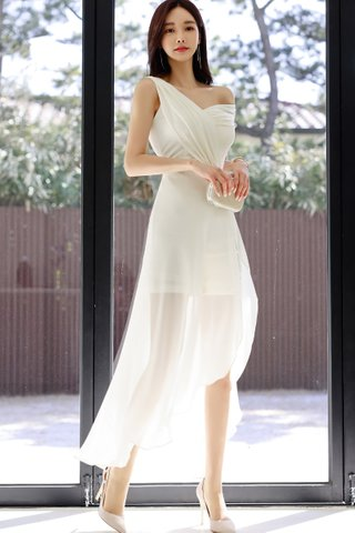 INSTOCK - Alresa Mesh Asymmetrical Dress