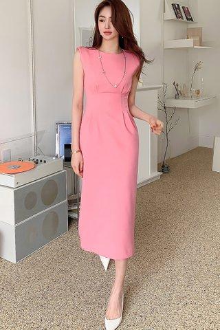 BACKORDER - Maylie Midi Pencil Dress