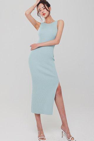 INSTOCK - Pamela Back Twist Knit Dress