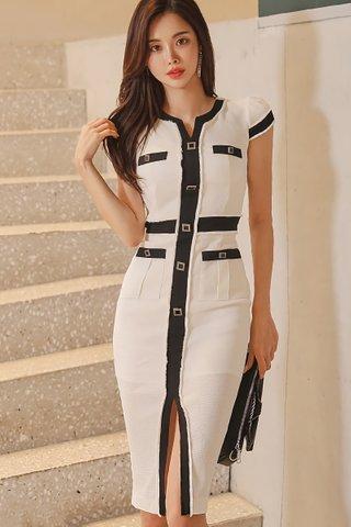 BACKORDER - Altera Single Breasted Dress