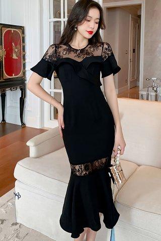 BACKORDER - Felicia Ruffle Lace Dress