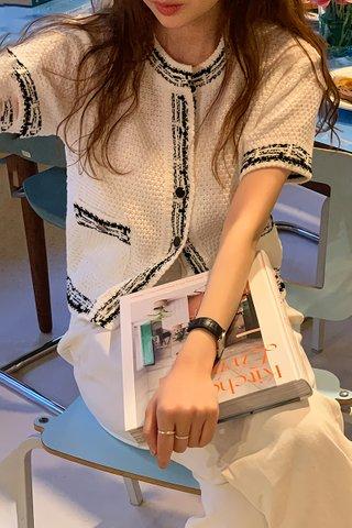 BACKORDER - Natasha Top Outerwear In White