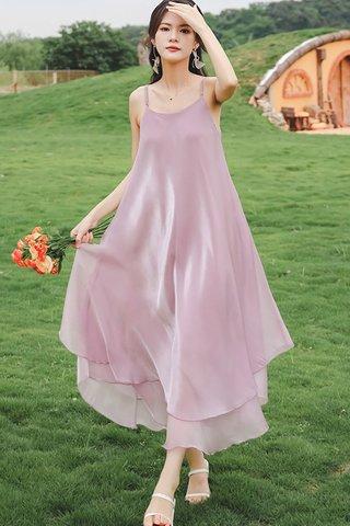 BACKORDER - Amanda Overlay Flow Dress