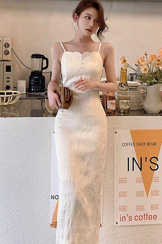 BACKORDER - Josey Scallop Neckline Dress