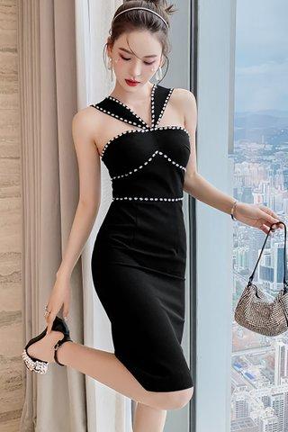 BACKORDER - Llova Diamante Embellished Dress
