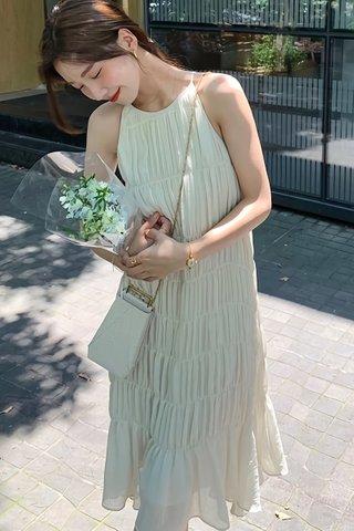 BACKORDER - Vivan Tiered Crinkled Dress