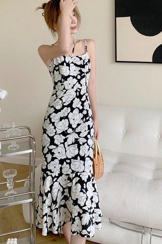 BACKORDER - Ava Strap Floral Dress