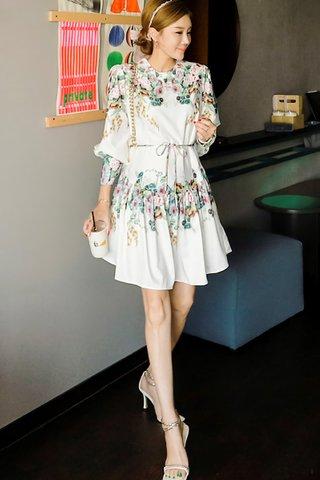BACKORDER - Mayan Floral Mini Dress