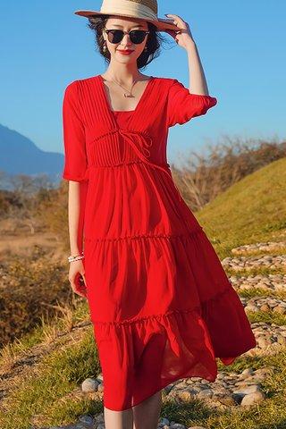 BACKORDER - Nicole Sleeve Shirt Dress