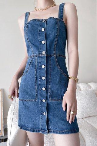 BACKORDER - Willow Denim Mini Dress