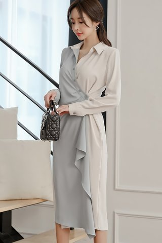 BACKORDER - Alera Cascade Shirt Dress