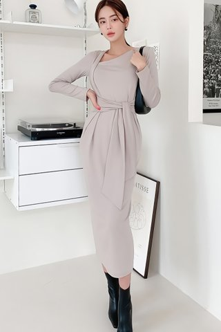 BACKORDER - Alisa Side Tie Dress