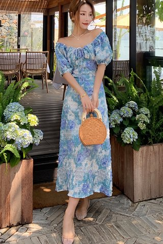BACKORDER - Joyce Crinkled Maxi Dress