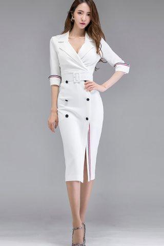 BACKORDER - Kolin Double Breasted Dress