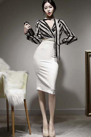 BACKORDER - Estelle Chain Print Dress