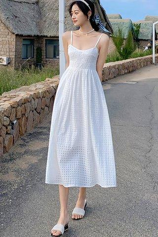 BACKORDER - Isabel Sleeveless Textured Dress